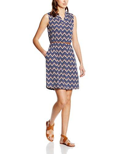 ESPRIT Damen Mehrfarbig 400 Navy Collection Kleid r4qrzH