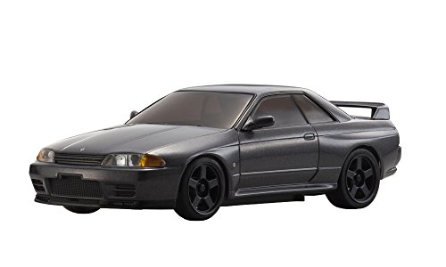 Kyosho Auto Scale Gun Metal Grey NISSAN GT-R R32 Car Accessory Fits Mini-Z Vehicle