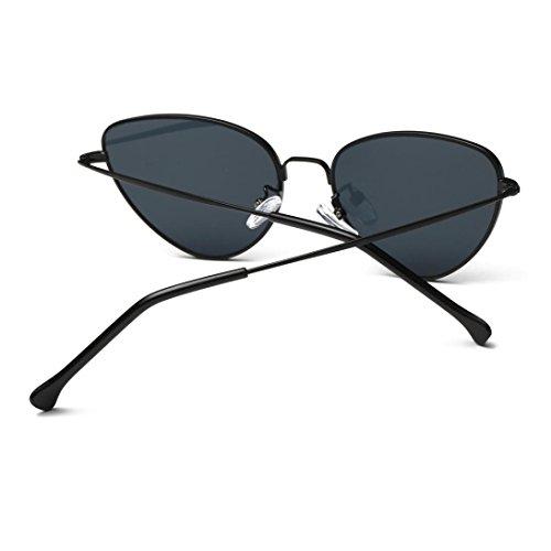 f1653c34c82e63 ... Lunettes de Soleil 2018 Ansenesna Unisex Chat Couleur des yeux Frame  Film UV400 protection Lunettes de ...