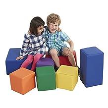 Softzone Foam Big Blocks, 7-Piece Set