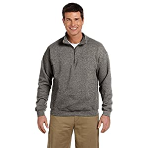 Gildan Heavy Blend Quarter-Zip Cadet Collar Sweatshirt - 18800