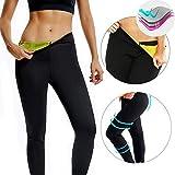 CROSS1946 Women's Slimming Long Pants Leggings Yoga Hot Thermo Neoprene Sweat Sauna Body Shapers for Weight Loss