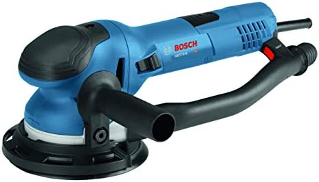 Bosch Power Tools - GET75-6N - Electric Orbital Sander, Polisher - 7.5 Amp, Corded, 6 Disc Size - features Two Sanding Modes Random Orbit, Aggressive Turbo for Woodworking, Polishing, Carpentry