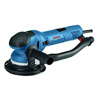 """Bosch Power Tools – GET75-6N – Electric Orbital Sander, Polisher – 7.5 Amp, Corded, 6″"""" Disc Size – features Two Sanding Modes: Random Orbit, Aggressive Turbo for Woodworking, Polishing, Carpentry"""