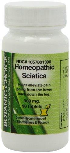 Botanic Choice Homeopathic Sciatica Formula, 300 mg (Pack of 5)