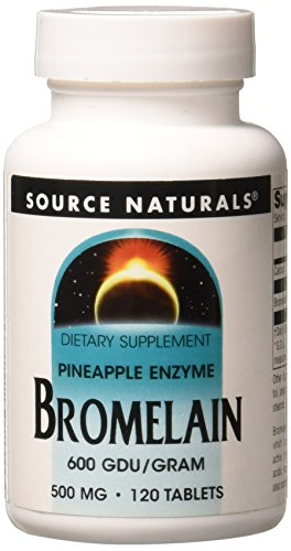 Source Naturals Bromelain 500mg Proteolytic Enzyme Supplement - 120 Tablets