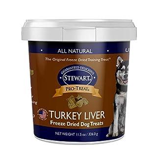 Stewart Pro-Treat Turkey Liver Freeze Dried Dog Treats, 11.5-Ounce, Model Number: 401812