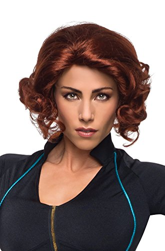 Rubie's Women's Avengers 2 Age Of Ultron Adult Black Widow Wig, Auburn, One Size -