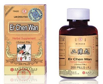 Er Chen Wan Herbal Supplements from Solstice Medicine Company 200 Pill Bottle Review