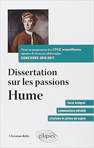 Dissertation sur la recherche scientifique