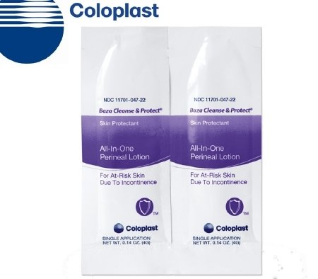 Coloplast 7725 Baza Cleanse and Protect Perineal Lotion