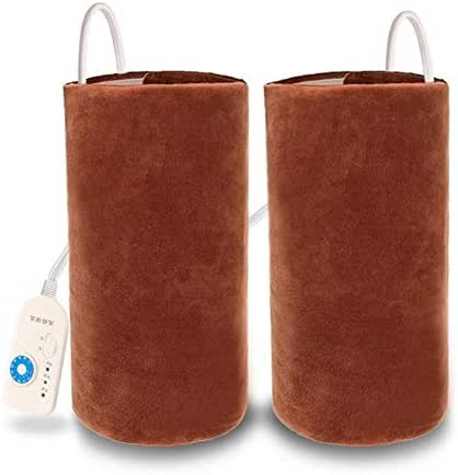 Lzour Electric Knee Pads Warm in The Elderly Old Cold Legs Men and Women Joint Care Moxibustion Heat Health Home