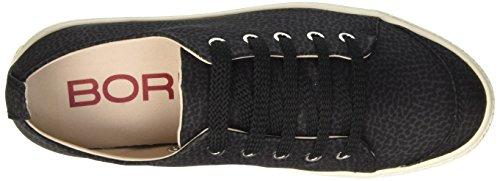 Scarpe Donna nero Sneakers da Tennis Borbonese UIz4qX5nz