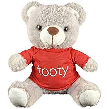 """Farting Teddy Bear Hug It/'s Heart To Hear It FartSoft Plush 11/"""" Brown Teddy"""