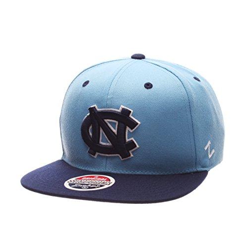 Zephyr NCAA North Carolina Tar Heels Adult Men Z11 Snapback Hat, Adjustable, Team Color