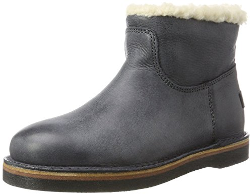 Amsterdam Boots Women''s Shabbies Blue Slouch w1S85nY7x