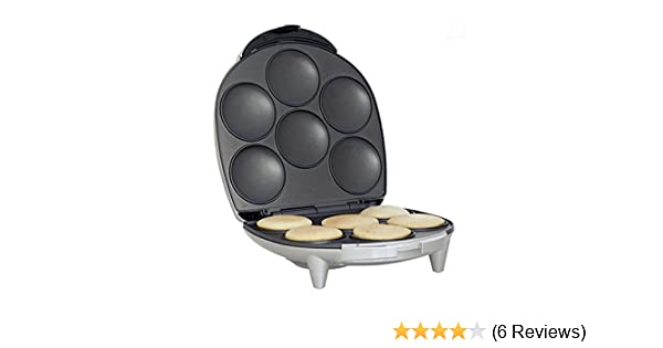 Amazon.com: Royal Arepa Maker Smart Electric Non Stick Surface 6 Portion - Make Professoinal Arepas & Empanadas: Electric Sandwich Makers: Kitchen & Dining