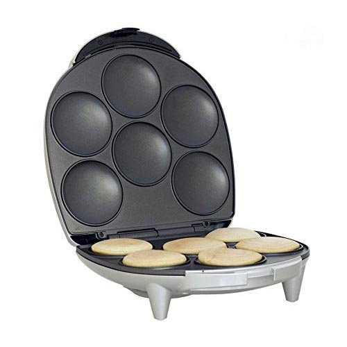 Royal Arepa Maker Smart Electric Non Stick Surface 6 Portion - Make Professoinal Arepas & Empanadas Unique Imports ui.3243