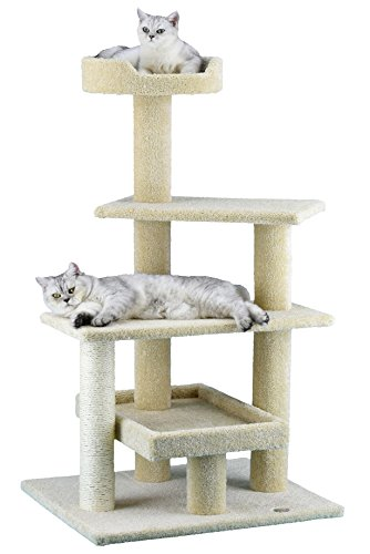 Go Pet Club LP-815 Premium Carpeted Cat Tree Furniture