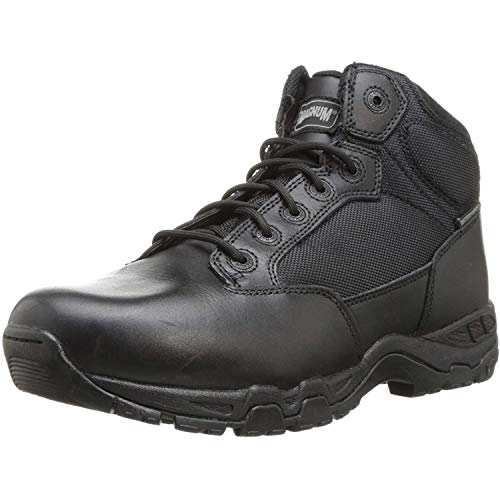 Mens Magnum - Magnum Men's Viper Pro 5 SZ Waterproof Duty Boot, Black, 11 W US