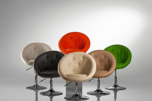 Sessel-Farbenvielfalt-hhenverstellbar-Kunstleder-Clubsessel-Coctailsessel-Loungesessel-TYP-509A