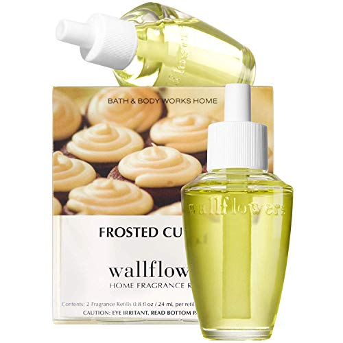 Bath & Body Works Frosted Cupcake Wallflowers Home Fragrance Refills, 2-Pack