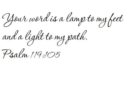 Bible Verse Light To My Path in US - 5