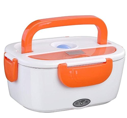 Warmer Container Food Storage 40W 110V Heated Electric Portable Lunch Box 1.5L + eBook from eXXtra Store