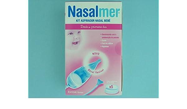 NASALMER KIT ASPIRADOR NASAL: Amazon.es: Salud y cuidado personal