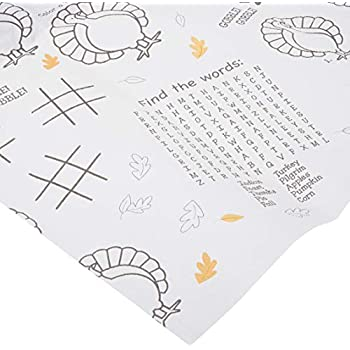 Amazon.com: Thanksgiving Table Cloth Paper Childrens Activity ...