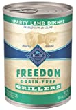 Cheap Blue Buffalo Blue Freedom Dog Lamb Dinner Food, 12 by 12 oz.