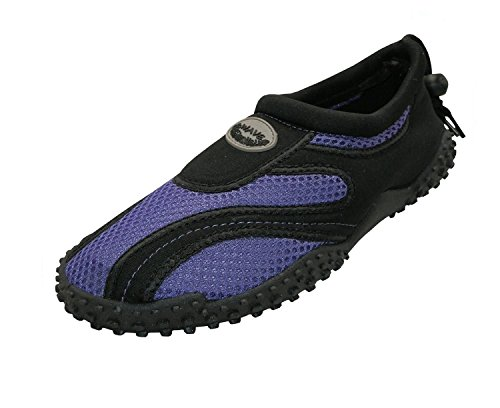 Aqua Shoe Black Purple The Ladies Wave 81T7A7