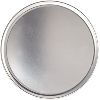 New Star Foodservice 50813 Pizza Pan/Tray, Coupe Style, Aluminum, 12 inch