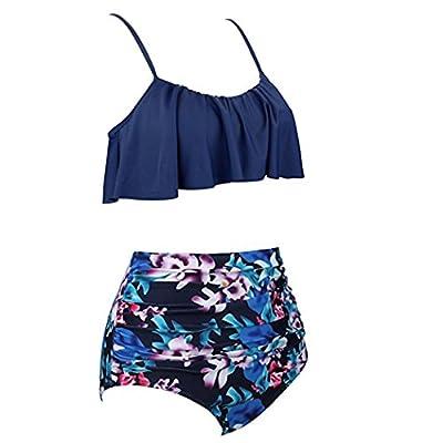 ????Traje De Baño De Mujer, ????RETUROM 2019, Ropa de Playa Bikinis de Cintura Alta para Mujeres: Ropa y accesorios
