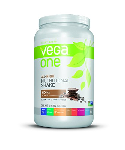 Vega One All-In-One Nutritional Shake, Mocha, 29.5 oz. (Number One Probiotic compare prices)