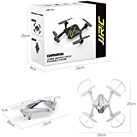 DZT1968 JJRC H44 Headless Mode Elfie Foldable Pocket 360° Drone Mini FPV Quadcopter Selfie 720P WiFi Camera