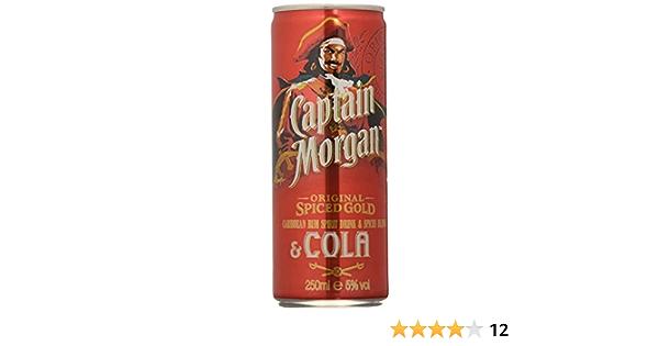 Captain Morgan Ron & Cola - 250 ml: Amazon.es: Alimentación y ...