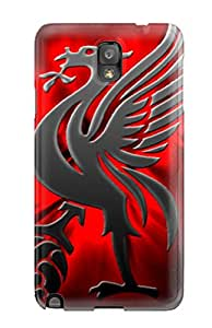 Renee Jo Pinson's Shop New Style 7644424K23307344 Premium Case With Scratch-resistant/ Liverpool Fc Background Case Cover For Galaxy Note 3