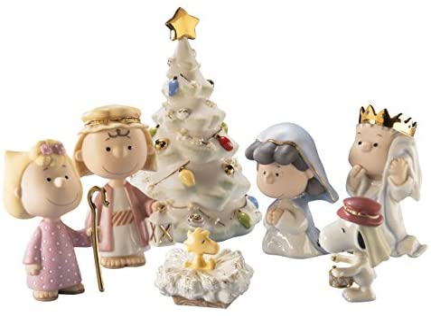 LENOX PEANUTS SNOOPY THE CHRISTMAS PAGEANT SET by Lenox [並行輸入品]
