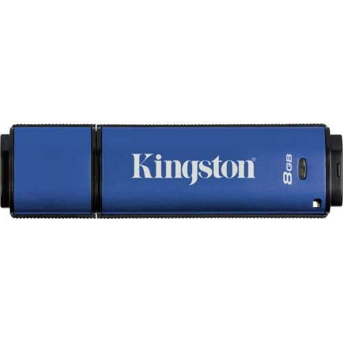 """Kingston, Datatraveler Vault Privacy 3.0 Management-Ready Usb Flash Drive 8 Gb Usb 3.0 """"Product Category: Computer Components/Portable Flash Drives"""""""