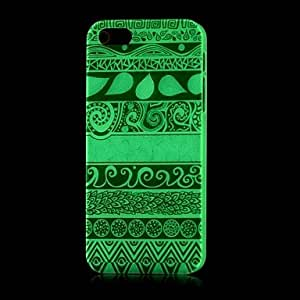 Aztec Pattern Glow in the Dark Hard Case for iPhone 5/5S
