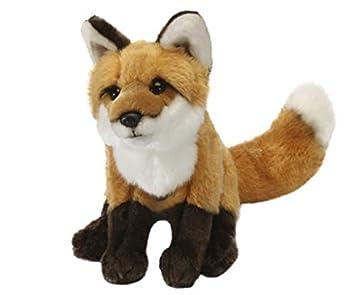 Amazon Com Large Fox Plush Soft Toy Animal Computers Accessories