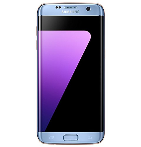 Samsung Galaxy S7 Edge, Smartphone libre (5.5'', 4GB RAM, 32GB, 12MP) [Versión italiana: No incluye Samsung Pay ni acceso a promociones Samsung Members], color Azul