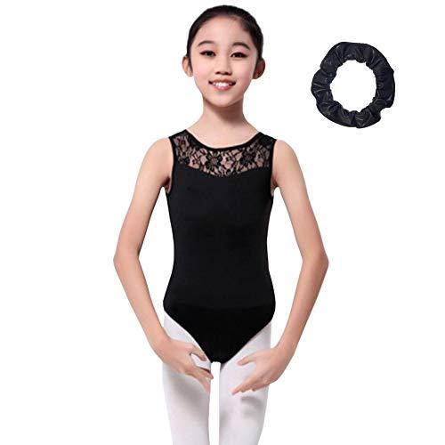 ac36059ed Jlong Girls Sleeveless Ballet Dancewear Leotard Gymnastics Costumes