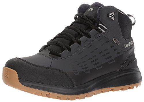 Salomon Men's Kaïpo CS Waterproof 2 Snow Boot Black/Asphalt/Titanium under $60 h1TWZ1tyO