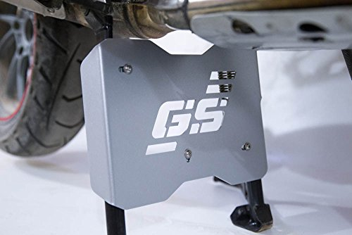 Engine Guard Skid Plate (Engine Guard Extension Skid plate Centerstand Center Stand (silver) BMW R1200GS LC 2013+, R1200GS Adventure 2014 2015 2016 2017)