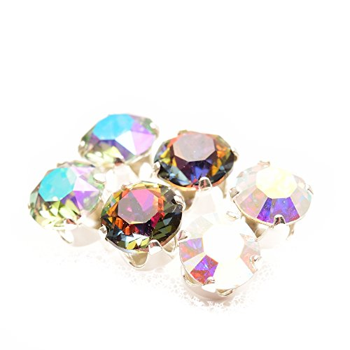 pewterhooter 925 Sterling Silver stud earrings expertly made with Volcano crystal from SWAROVSKI® for Women. lkhsIH