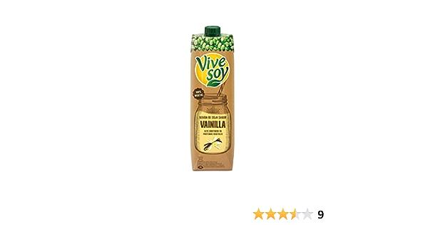 Vivesoy Bebida de Soja Sabor Vainilla, 1L