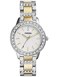 Women's ES2409 Jesse Two-Tone Stainless Steel Watch with Link Bracelet