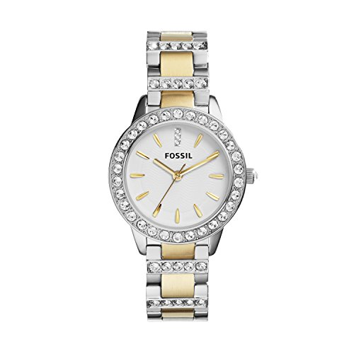 Fossil-Womens-ES2409-Jesse-Two-Tone-Stainless-Steel-Watch-with-Link-Bracelet